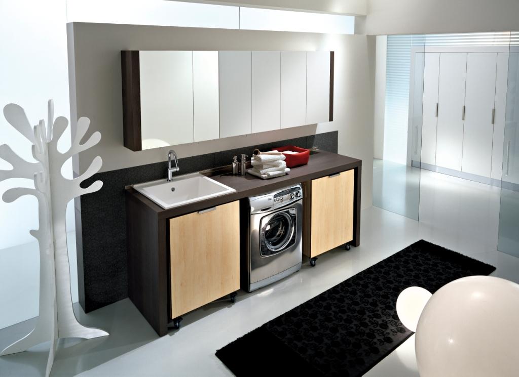 Spazio Evoluzione muebles de lavanderia