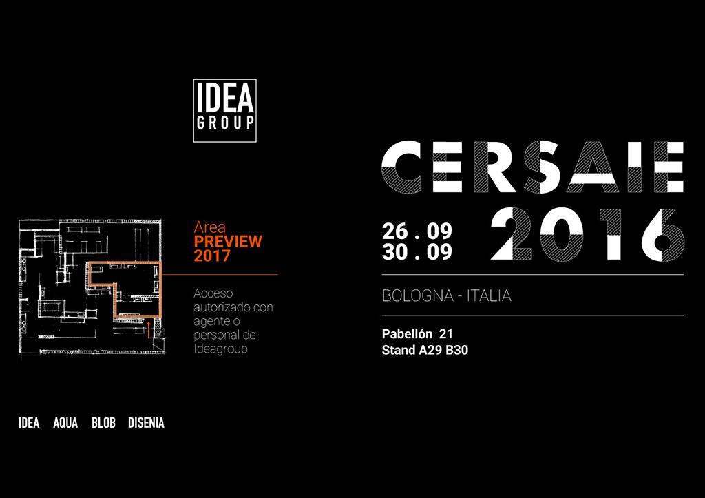 Ideagroup a Cersaie 2016