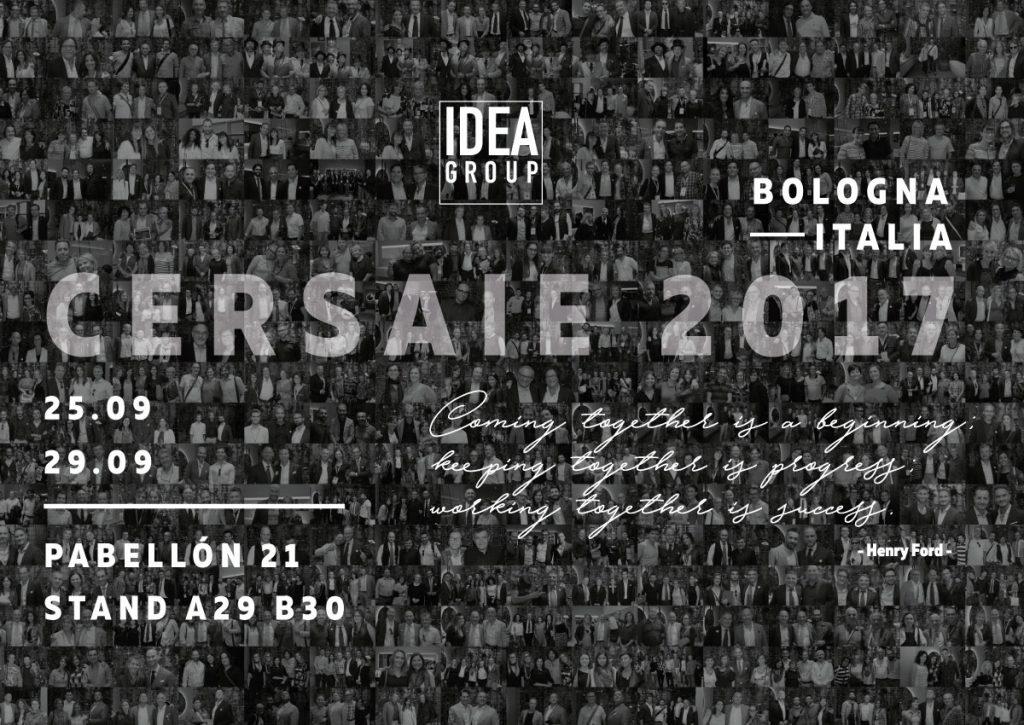 Ideagroup en el Cersaie 2017