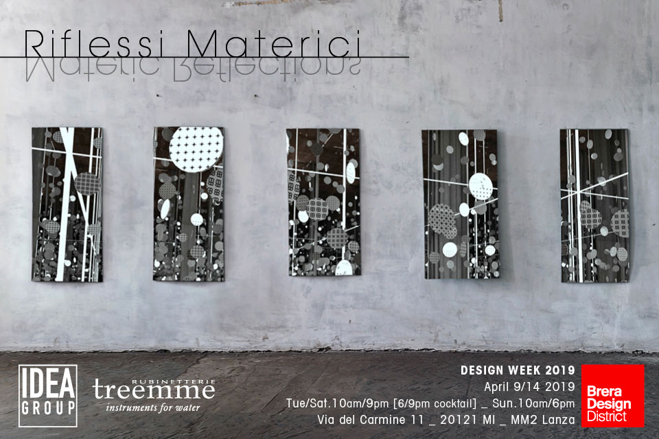 Materic Reflections: Ideagroup at Fuorisalone