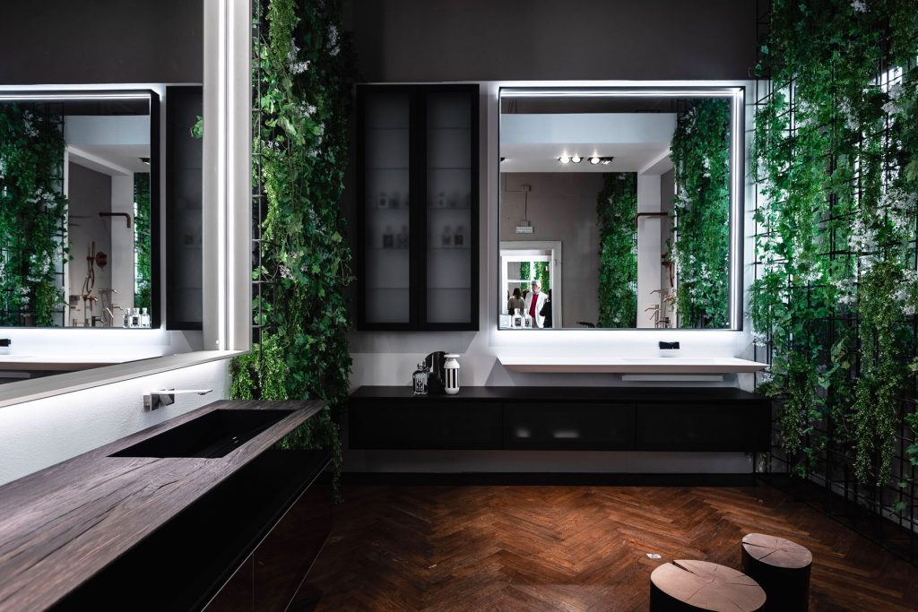Materic Reflections in the Brera Design District: moments made to be relived