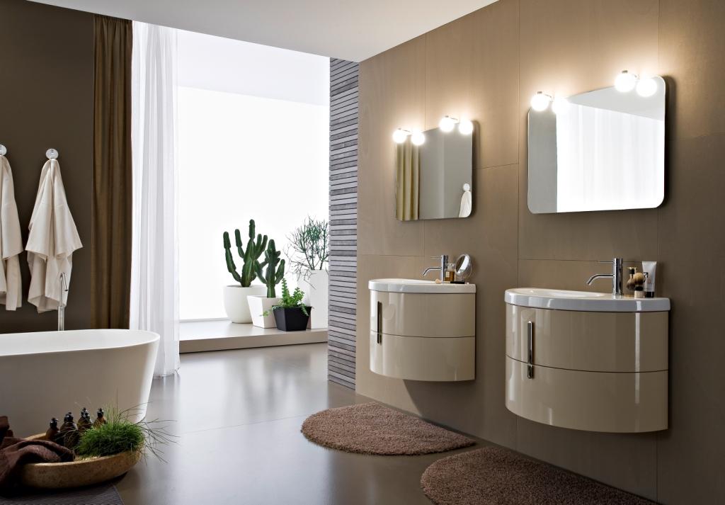 Muebles de baño modulares Moon – Ideas