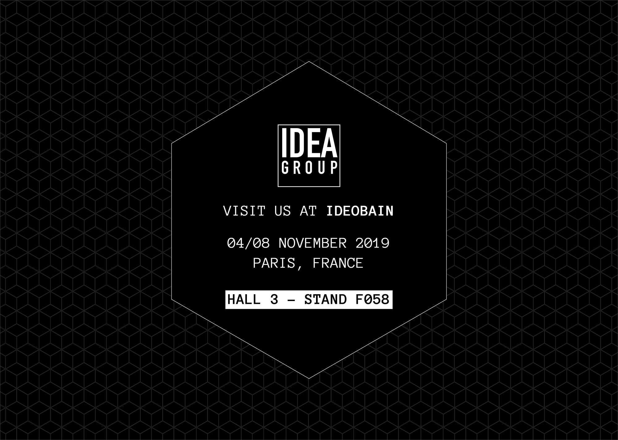 Ideagroup en la Feria Idéobain 2019